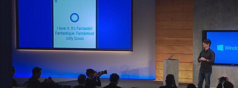 Cortana Re-Imagined for Windows 10 on Desktop