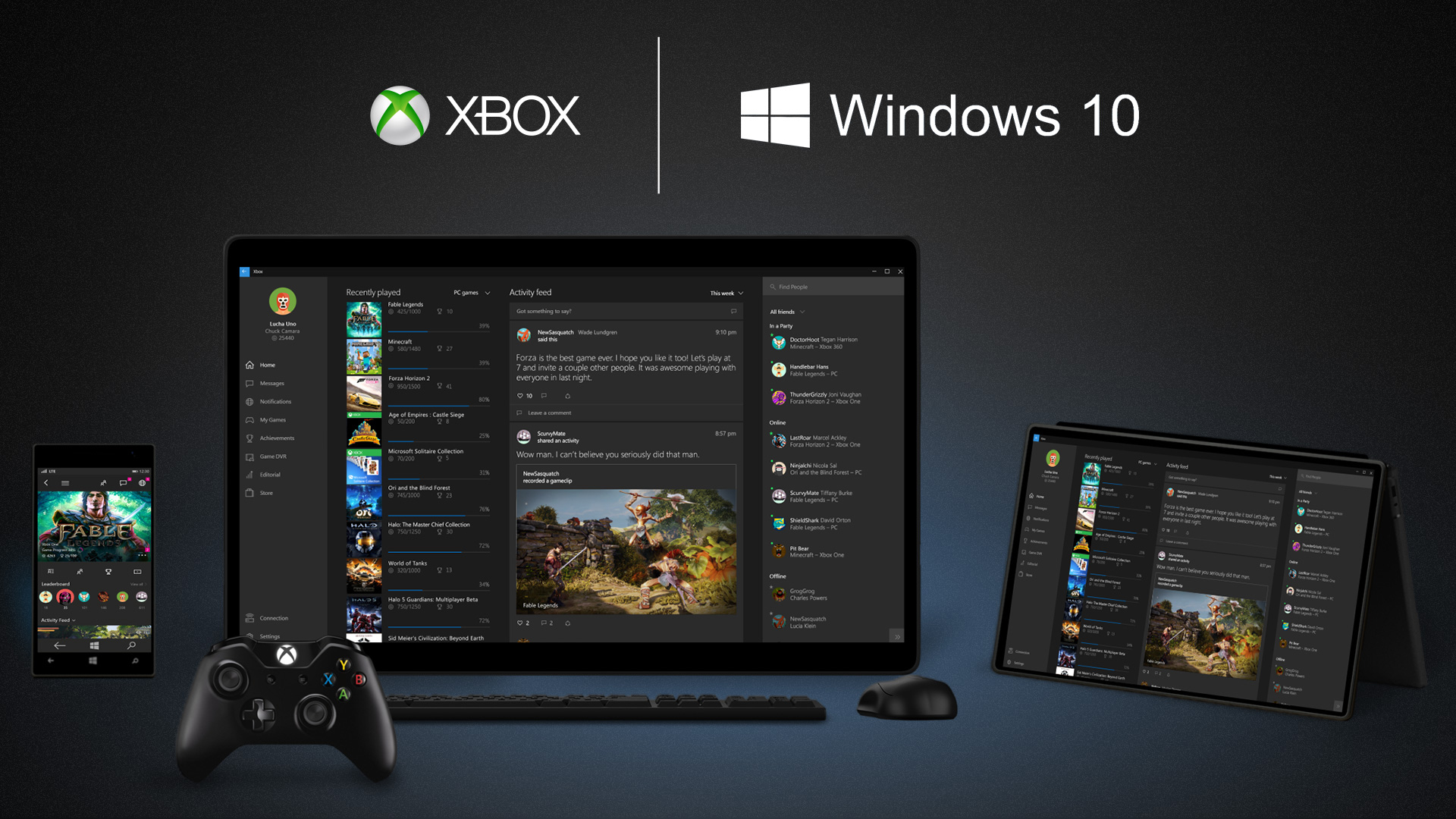 Microsoft Announces Game Streaming for Xbox One Games on
