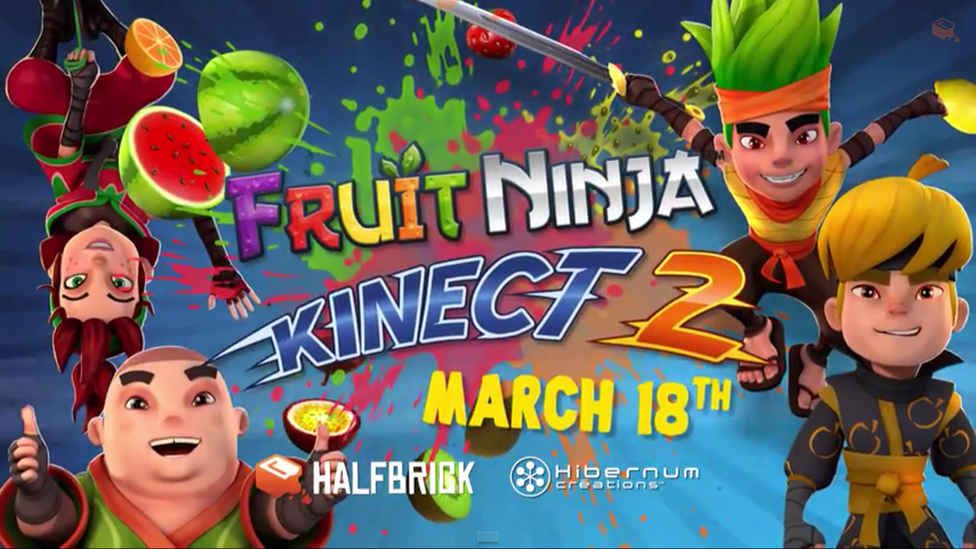 Ninja fruit 2 - Halfbrick Studios Have Today Confirmed That Fruit Ninja Kinect 2 Will Launch On Xbox One On The 18th Of March 2015 The Game Was Initially Announced During