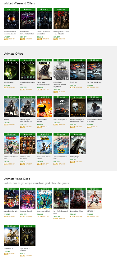 Xbox One Games On Sale : Ultimate games sale all sales xbox one rectify gaming