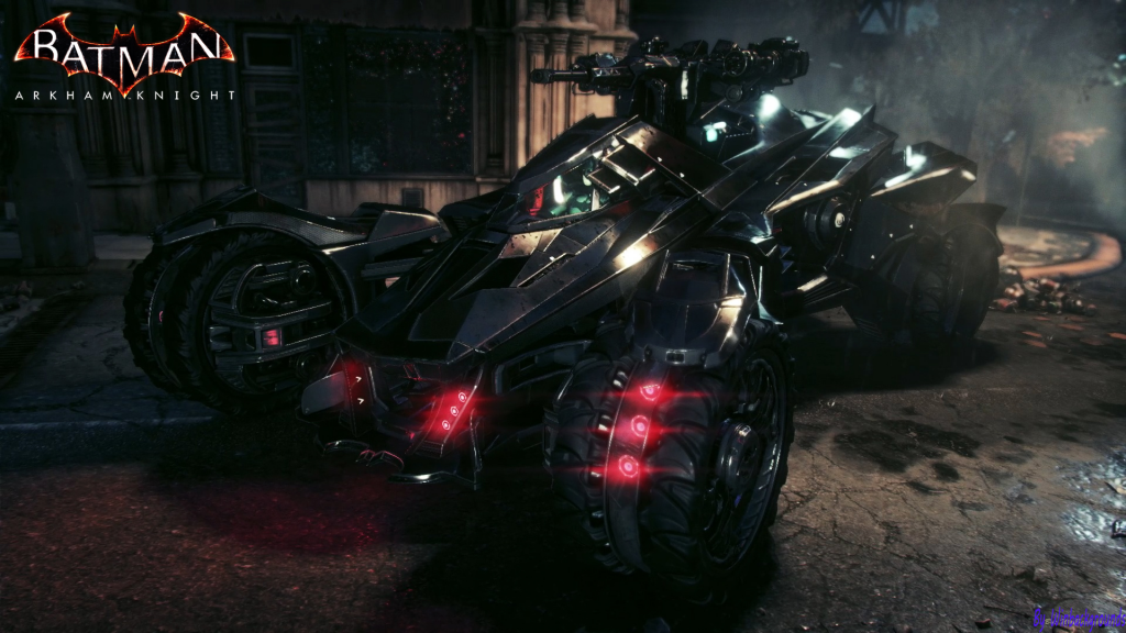 Batman Arkham Knight Batmobile Xbox One Wallpaper