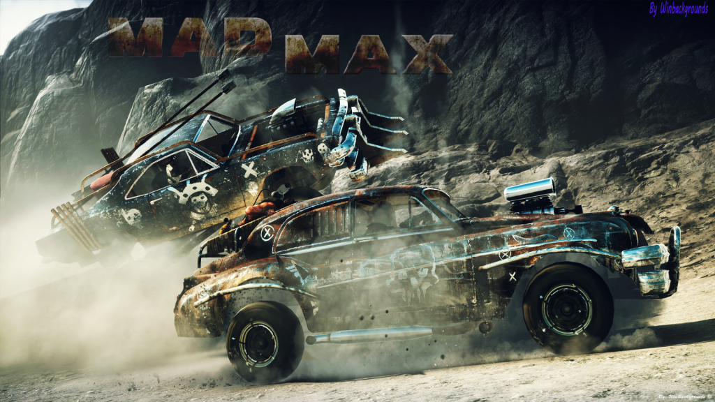 Mad Max Car Xbox One Background