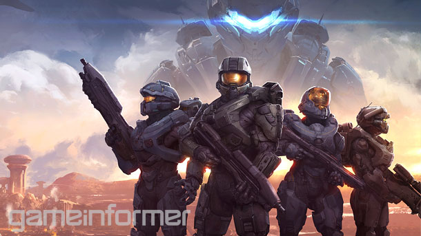 Halo 5 Guardians Cover Halo 5 Guardians Story