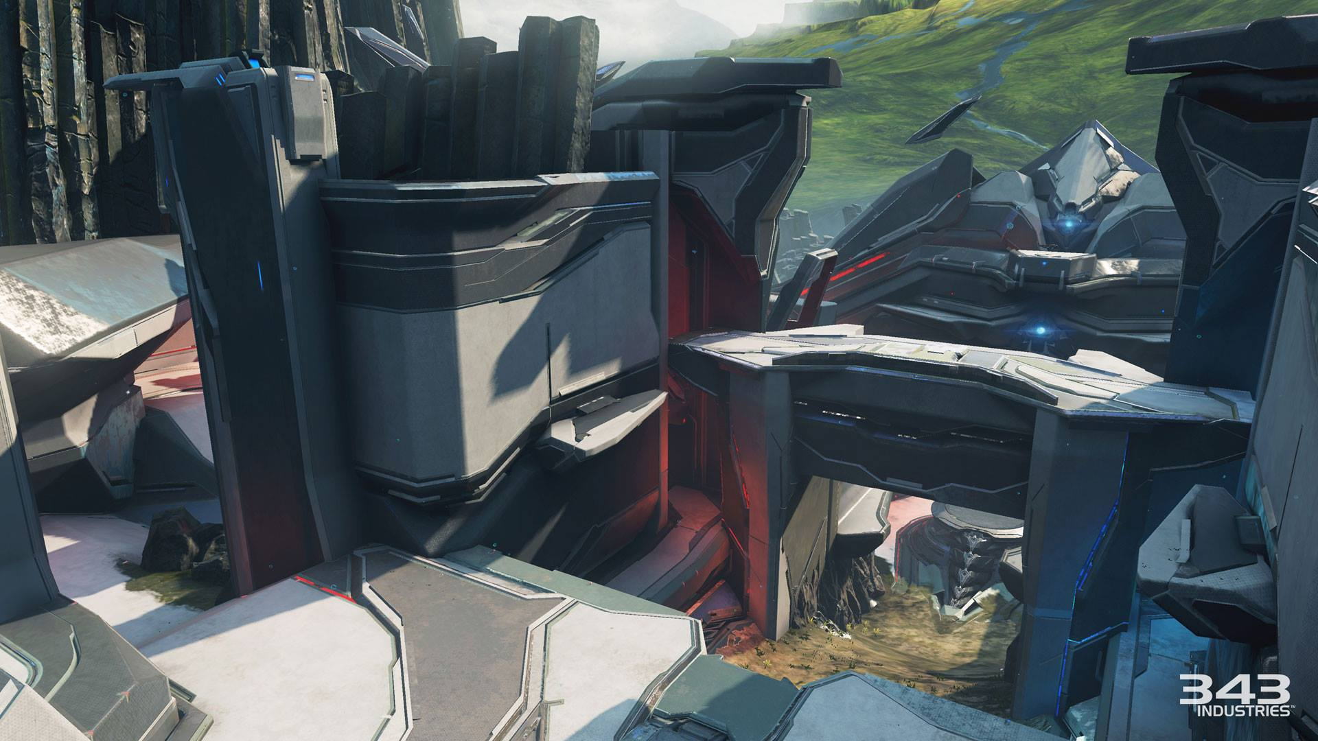 Screenshots of Halo 5: Guardians New Arena Maps — Rectify