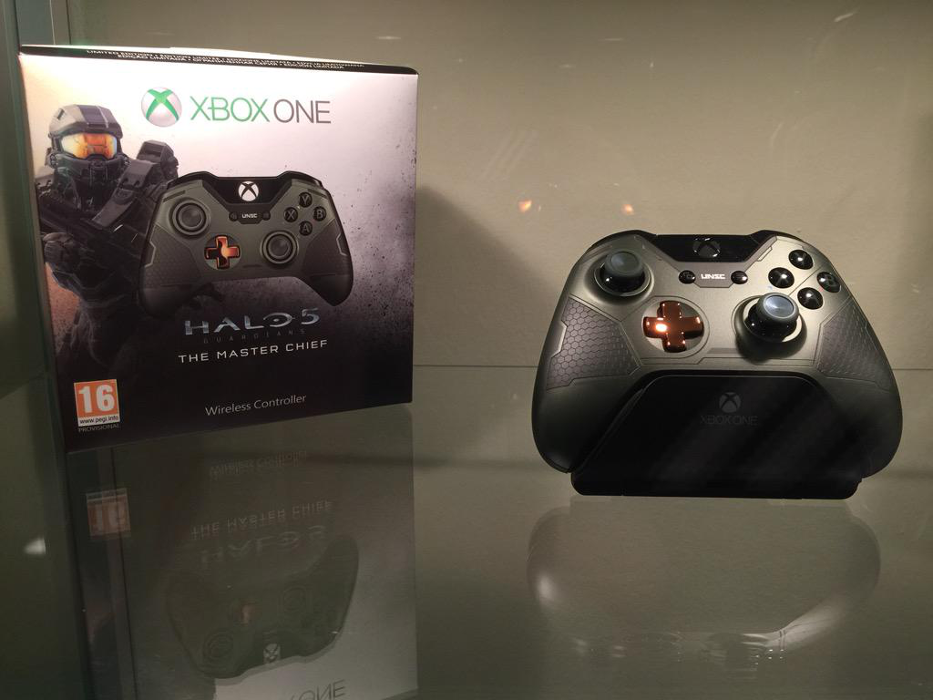 The Master Chief Themed Xbox One Le Controller Rectify