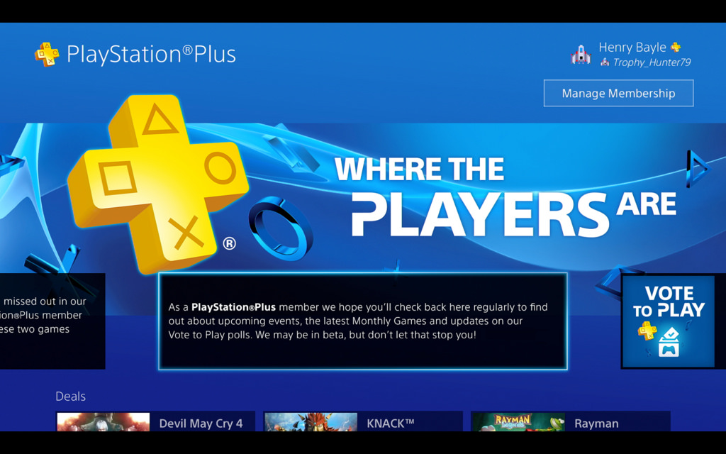 ps4 is online free