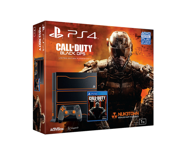 Sony Announces Call Of Duty Black Ops 3 Playstation 4 Limited