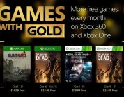October 2015 Games with Gold announced
