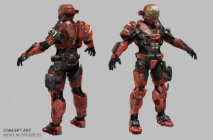 Emile's armour