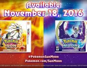 Pokémon Sun and Moon Releasing November 18th.