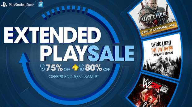 Extended Play Sale