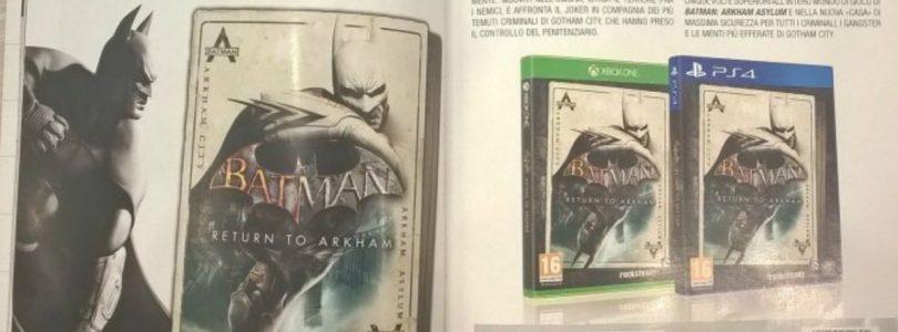 Batman returns: The arkham HD collection