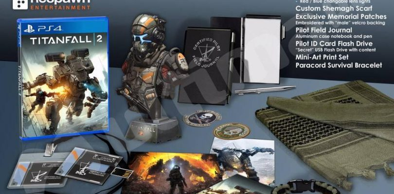 Titanfall 2 Box Art, Collectors & Deluxe Edition's have been Leaked