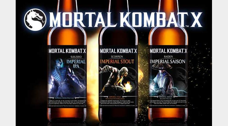 Mortal Kombat beer now available