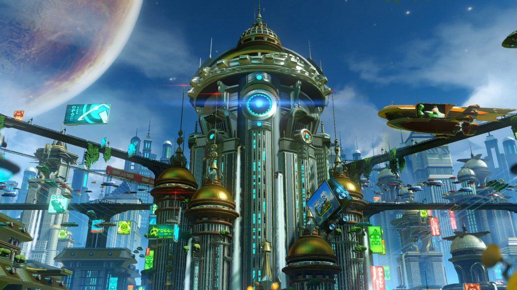 Prepare to be blown away by the visuals in Ratchet & Clank.