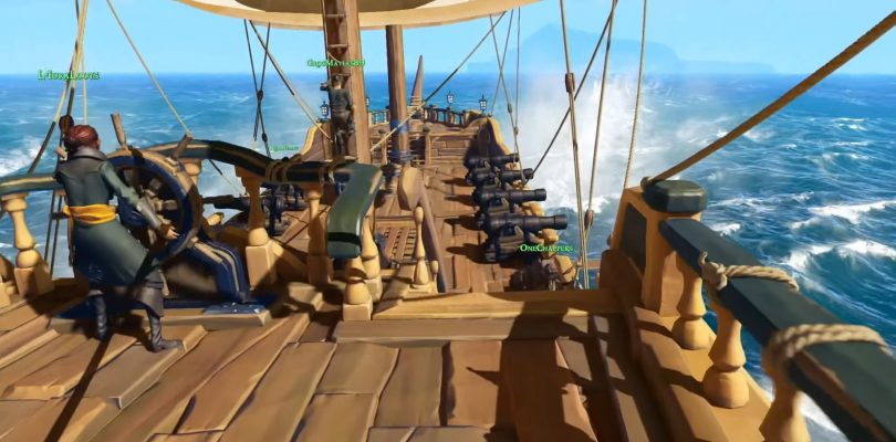 Sea of Thieves wins Best Xbox and Multiplayer awards at Gamescom