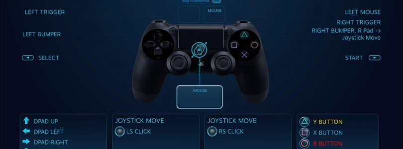 DualShock 4 to be fully compatible with Steam. Including APIs