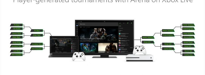 Gamer created tournaments in Arena are coming to Xbox Live in 2017