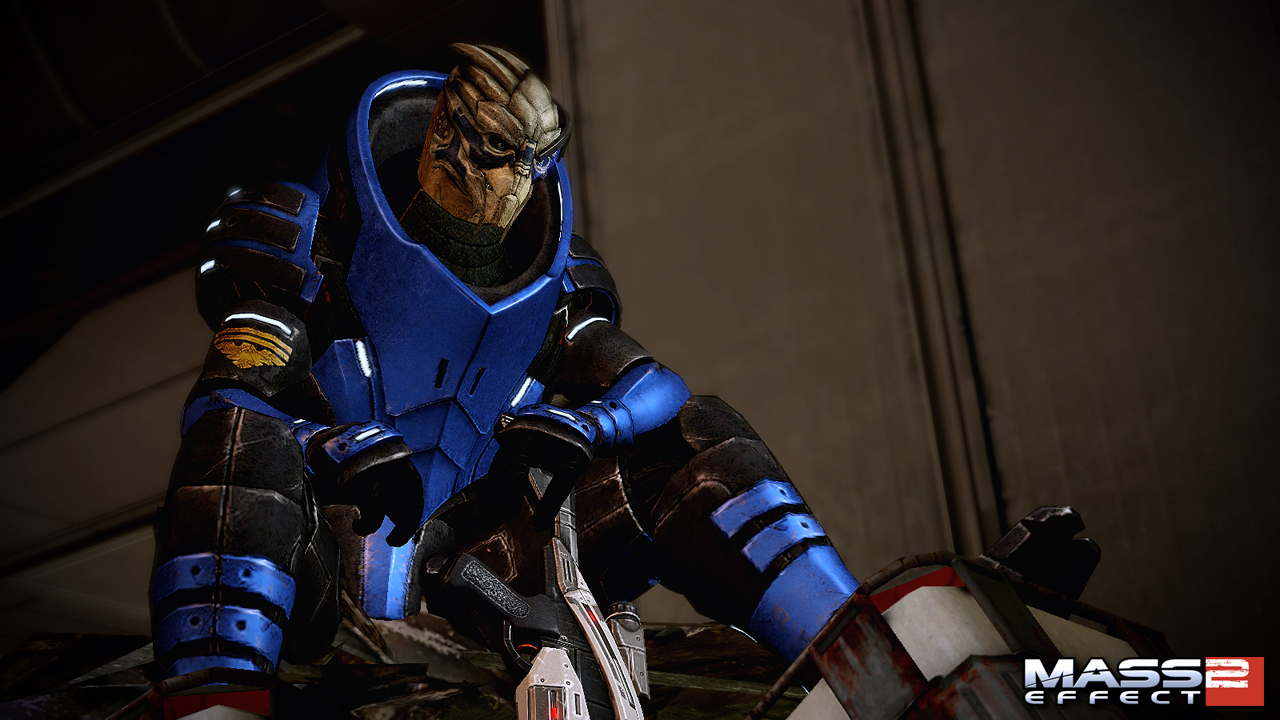 Single Player vs Multiplayer - Garrus