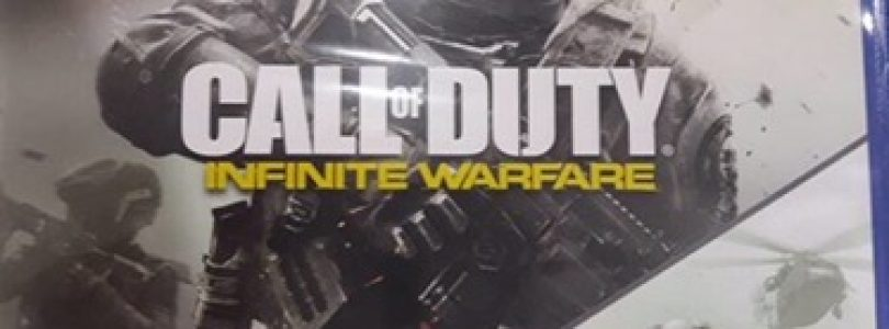 First early copy of Call of Duty Infinite Warfare has appeared