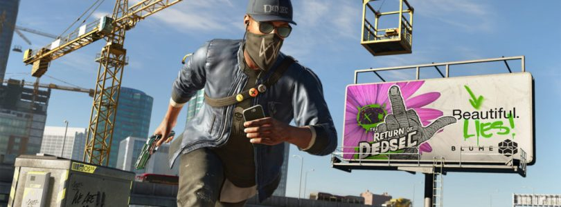 Watch Dogs 2 Day One Patch is 216.5MB