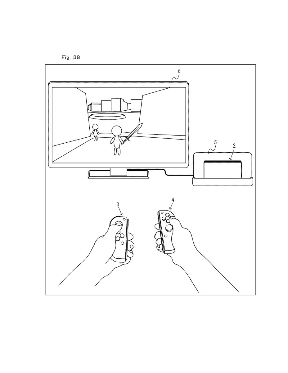 a patent for a vr headset for the nintendo switch has been