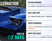 Ring in the New Year with a new #Forzathon event series in Forza Horizon 3