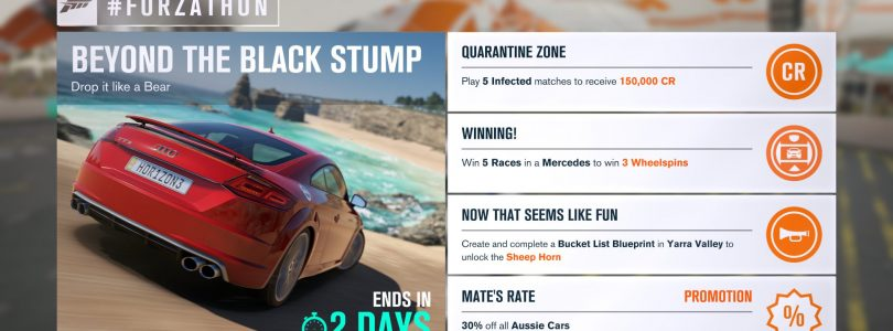 Start the weekend with another new #Forzathon in Forza Horizon 3