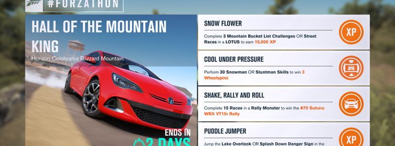 Forza Horizon 3 update rolling out to Xbox One and Windows 10, fixes Subaru bug from last #Forzathon