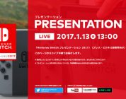 Nintendo Opens Switch Presentation 2017 Website