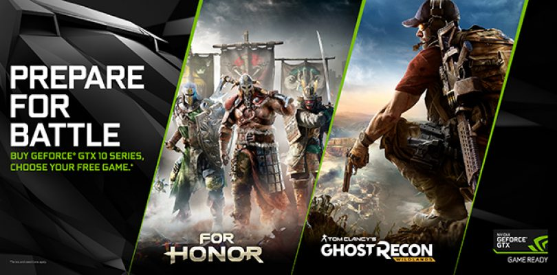 Nvidia offering For Honor and Ghost Recon: Wildlands free with GeForce GTX bundle