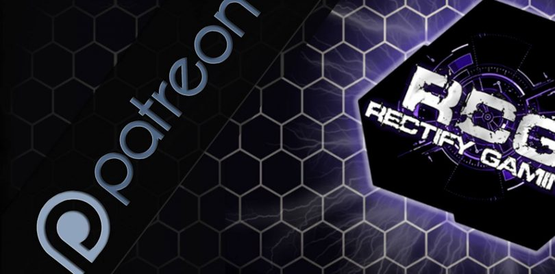 Announcing Rectify Gaming Patreon.