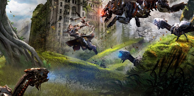 Sony has recreated cities in the UK and Ireland to show how they would look in Horizon Zero Dawn