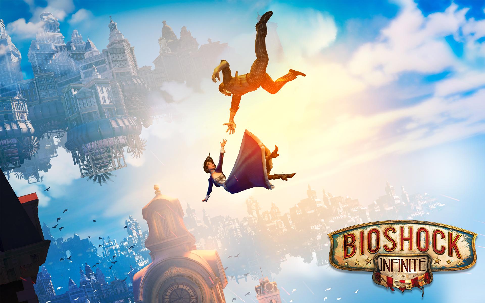 Bioshock-Infinite-Booker-and-Elizabeth-Wallpaper-0