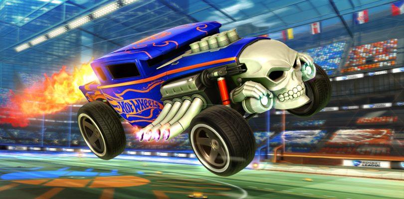 Rocket League developer Psyonix announces Hot Wheels DLC releasing this month