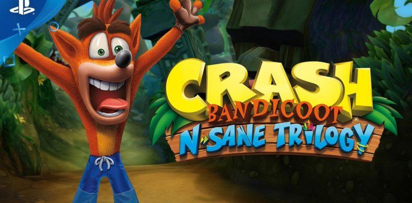 Crash Bandicoot N Sane Trilogy coming to PS4 June 30th.