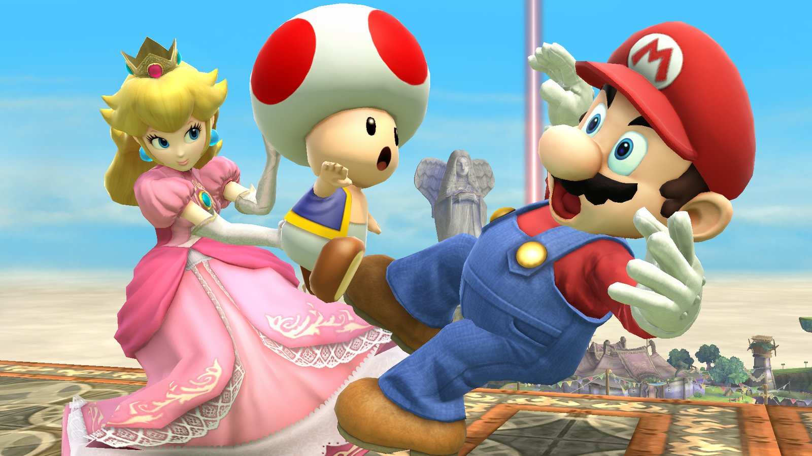 Mario and Peach - 32 years together and counting.