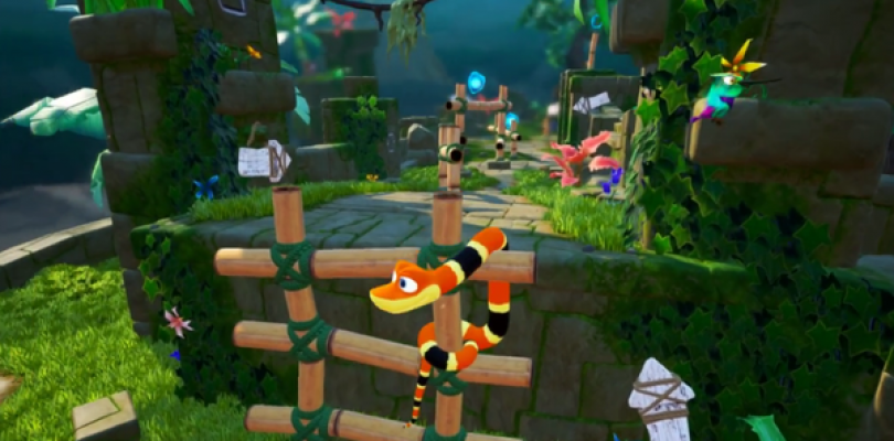 Sumo Digital had Snake Pass up and running on the Nintendo Switch in a week