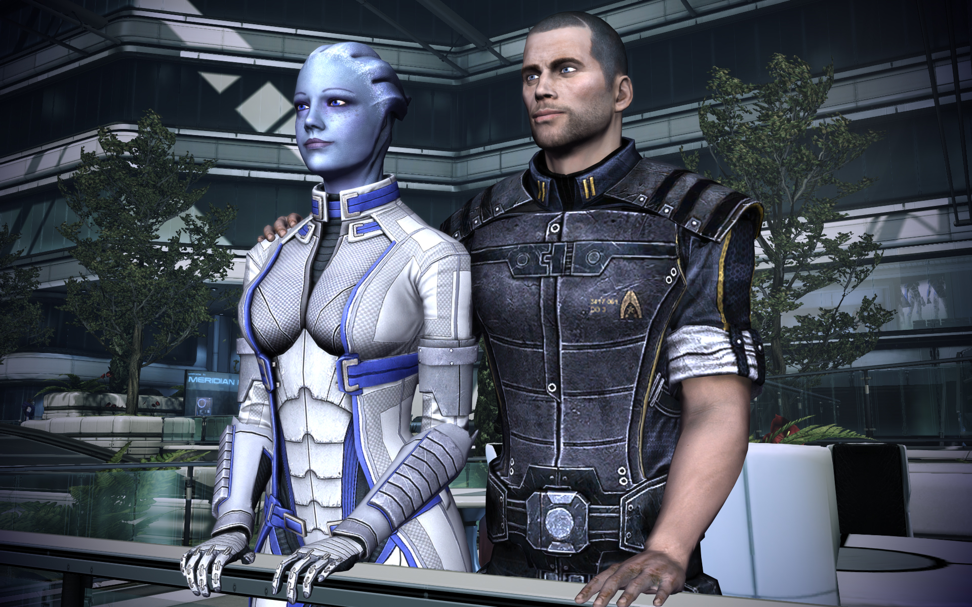 Some Mass Effect couples are better than others, but who am I to judge? The whole point of Mass Effect is for you to choose what fits you best.