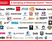 The Nintendo Switch now has over 100 games in development from 70+ developers