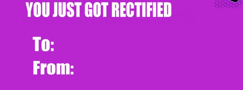 Rectify Gaming Valentines Day Cards