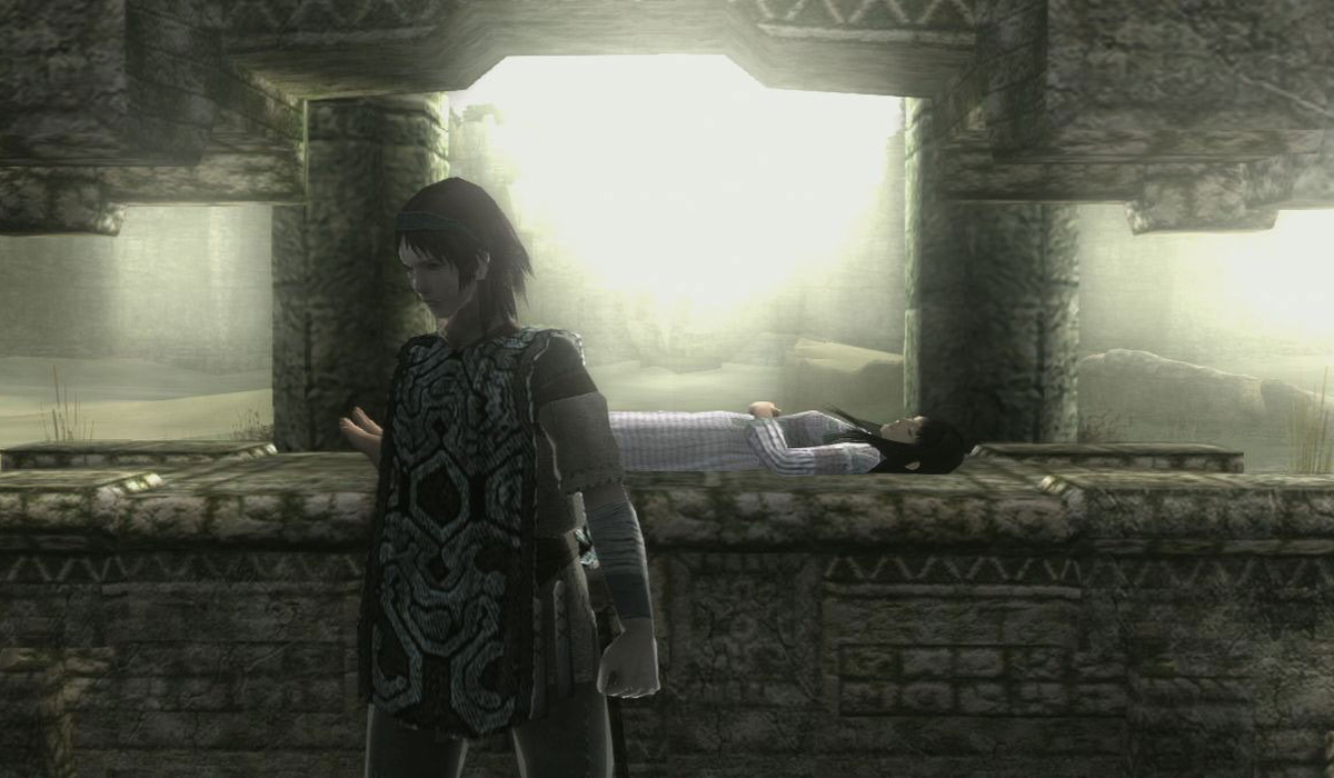 Shadow of the Colossus may be more a tragedy than a love story, but it's one like Romeo and Juliet - with giant monsters.
