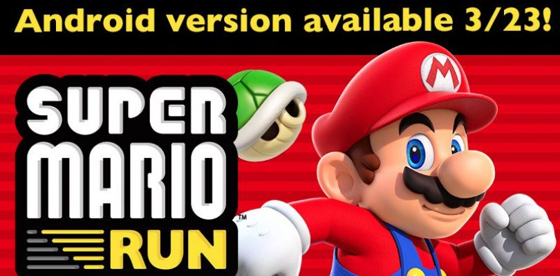 Super Mario Run coming to Android March 23rd