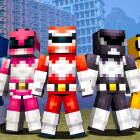 Minecraft Windows 10 and Pocket Edition hit v1.0.5, add Mighty Morphin' Power Ranger Skin Pack