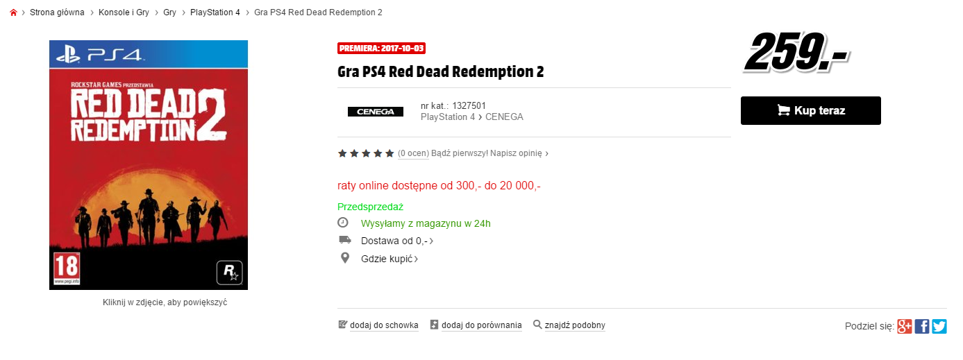 Red Dead Redemption 2 Release Date Possibly Leaked By