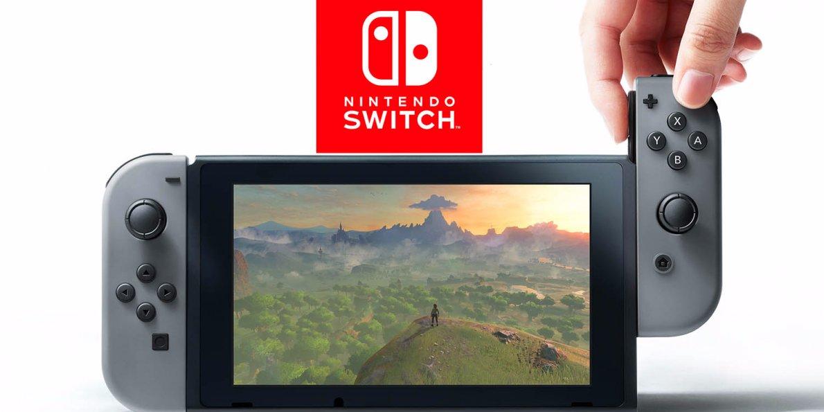 نتیجه تصویری برای Nintendo Switch