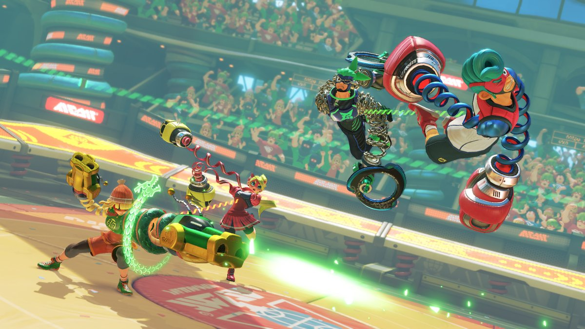 ARMS releasing June 16 & will have a 2 v 2 mode.