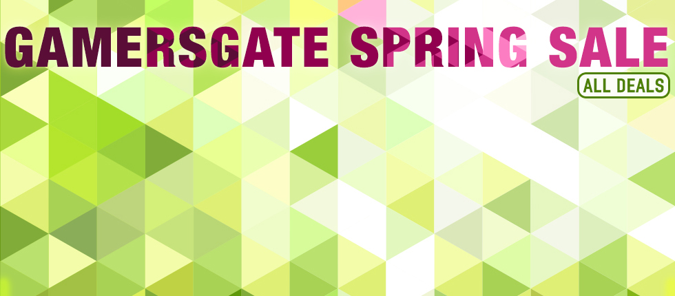Gamersgate Spring Sale is on now