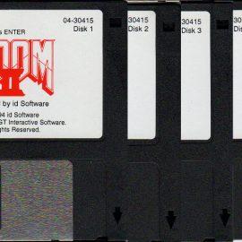 Original Doom 2 Floppy Disks Being Auctioned Off