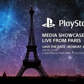 Sony has announced its PlayStation Paris media showcase event for October 30th